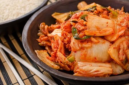 Reduced-Salt Kimchi (Spicy Pickled Cabbage)
