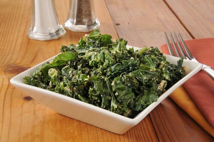 Sesame Kale Buckwheat Soba Salad